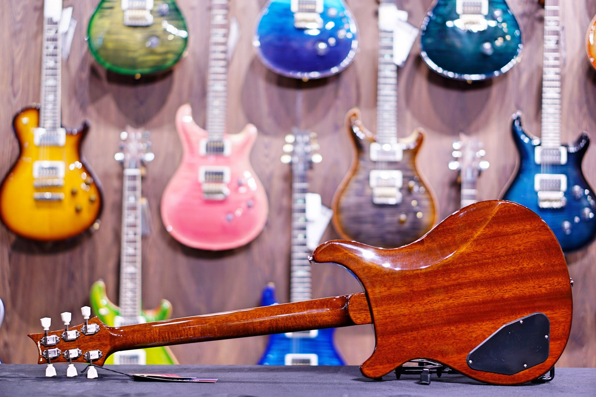 PRS S2 McCarty 594 Thinline Electric Guitar - Walnut  S2047806 - HIENDGUITAR   PRS GUITAR