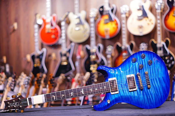 PRS mccarty 594 Faded Blue Wrap Burst 10 top 190280209