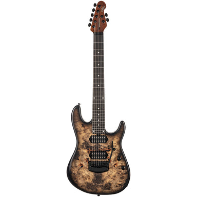 Ernie Ball Music Man Jason Richardson Signature Cutlass HH 7-String - Natural Buckeye Burl - HIENDGUITAR   HIENDGUITAR.COM GUITAR