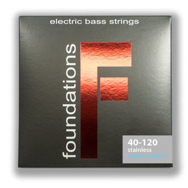 FS540120L 5-STRING CUSTOM LIGHT FOUNDATIONS STAINLESS STEEL BASS      SIT STRING - HIENDGUITAR   SIT string