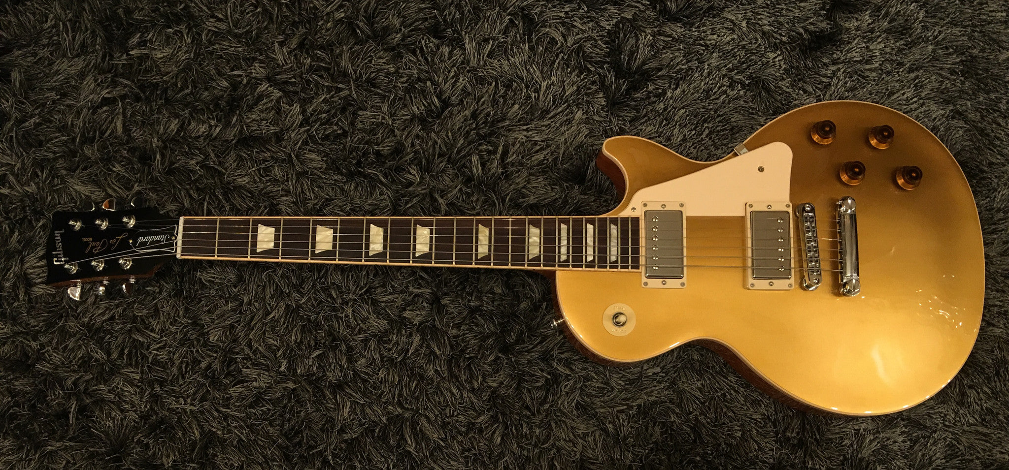 Gibson 2016 Les Paul Standard T Electric Guitar  Gold Top - HIENDGUITAR   Gibson gibson2016