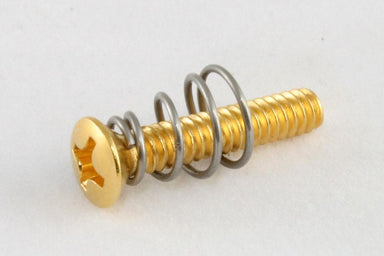 GS-0064 Countersunk Pickup Mounting Screws DELTA FASTNER CORP. Gold / Pack of 8 - HIENDGUITAR.COM