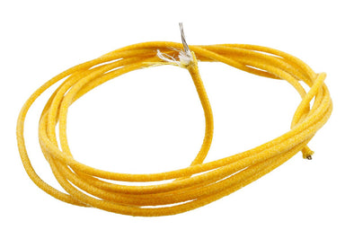 GW-0820 Cloth Covered Stranded Wire GAVITT WIRE & CABLE CO.,INC. Yellow / 25 feet - HIENDGUITAR.COM