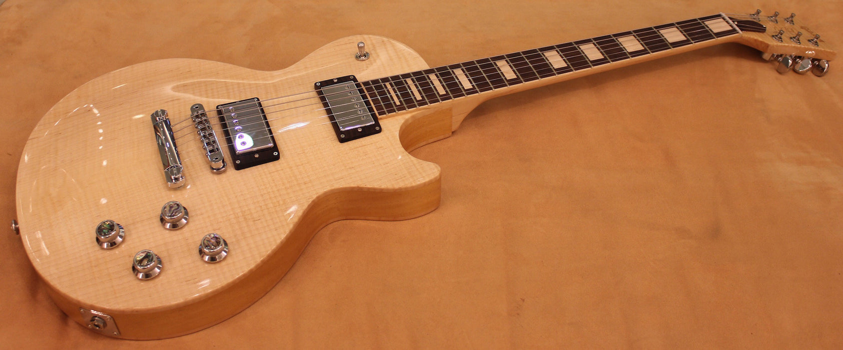 GIBSON LP All Wood Antique Natural LPTLPANCH1 - HIENDGUITAR.COM