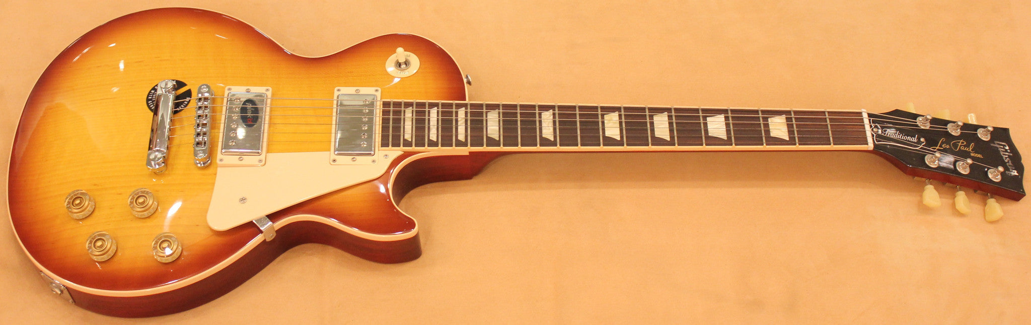 GIBSON LP TRADITIONAL 2012 ICE TEA Gibson - HIENDGUITAR.COM