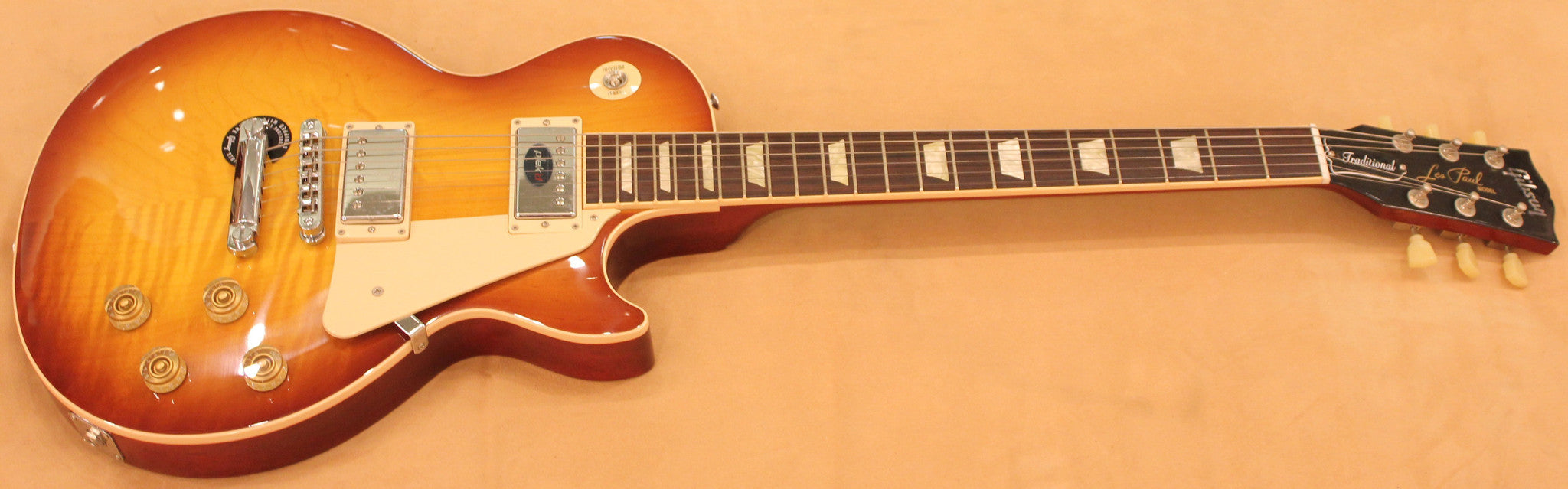 GIBSON LP TRADITIONAL 2012 ICE TEA - HIENDGUITAR.COM