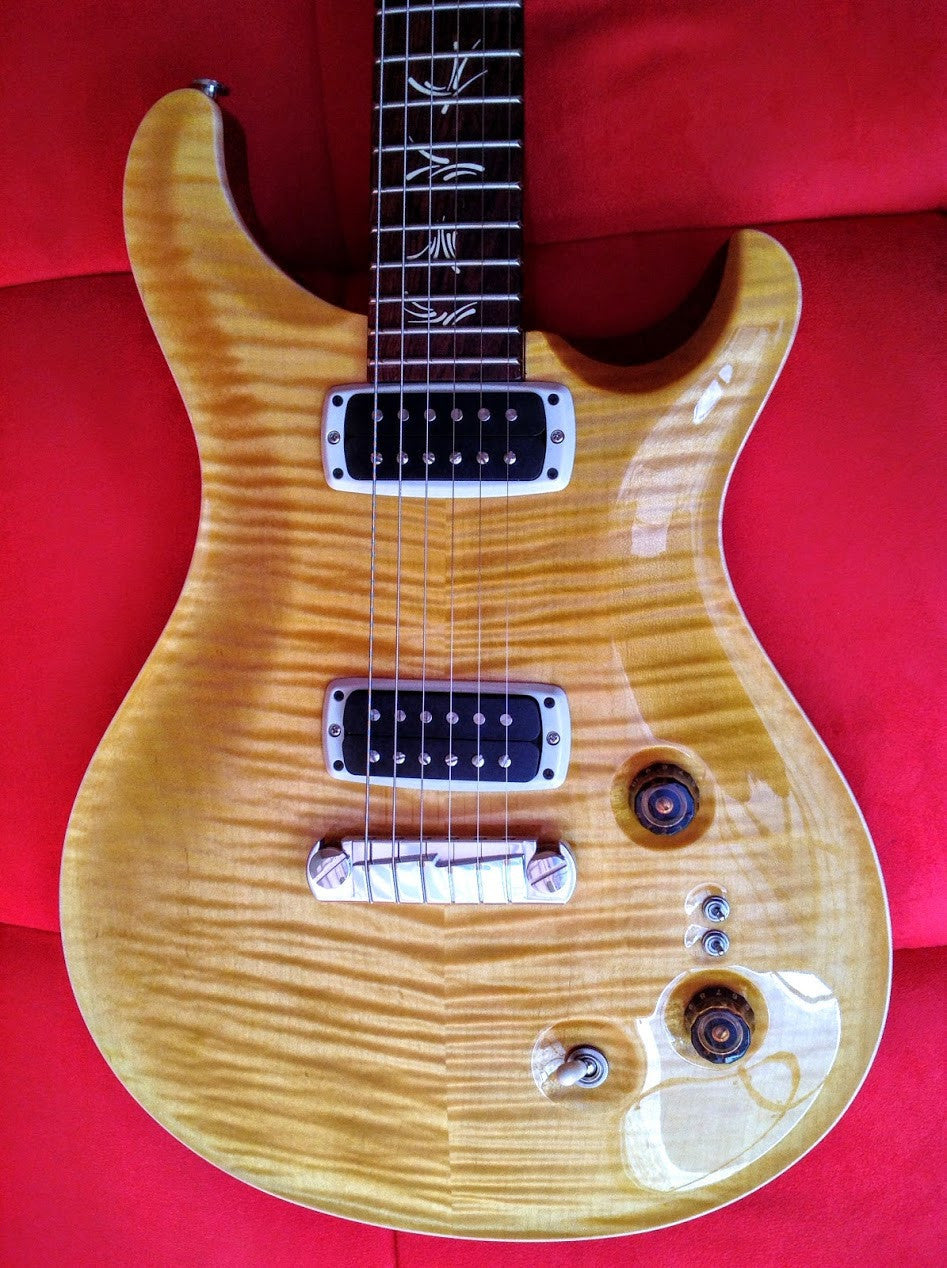 PRS Paul guitar honey 2015 sn 217161 PRS - HIENDGUITAR.COM