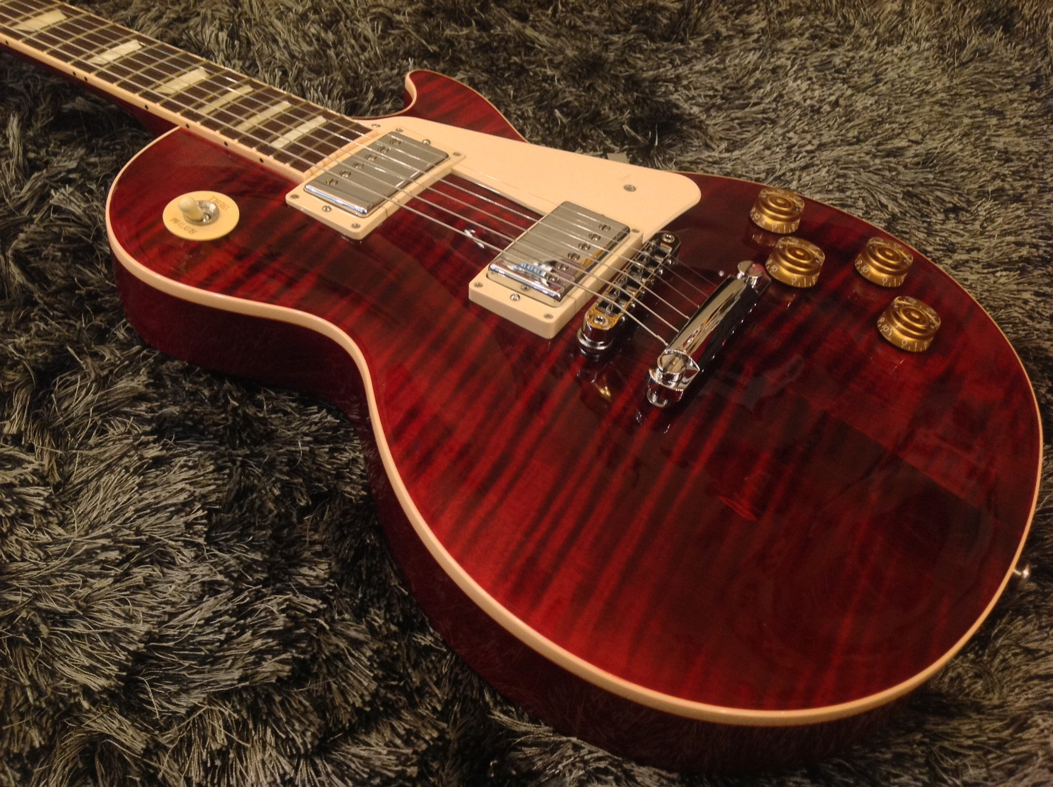 Gibson Les Paul traditional 2016 wine red HIENDGUITAR.COM - HIENDGUITAR.COM