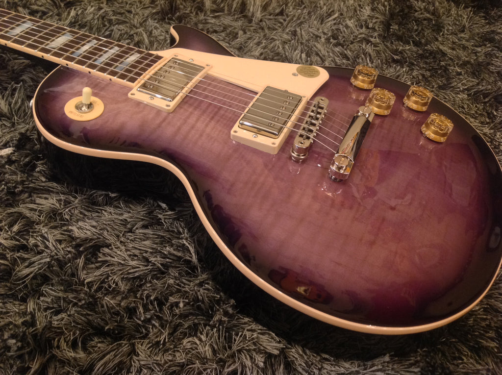2015 Gibson LP traditional Placid Purple