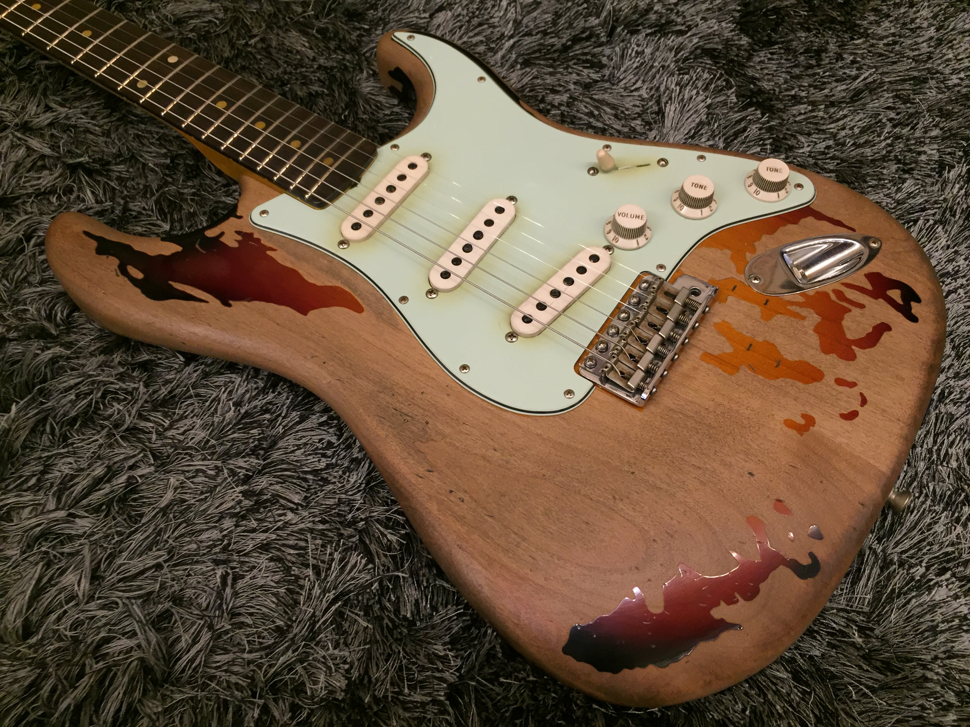 Fender Custom Shop Rory Gallagher Tribute Stratocaster - HIENDGUITAR   HIENDGUITAR.COM GUITAR