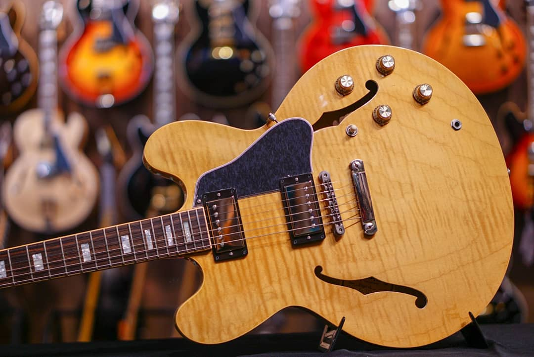 Gibson Memphis ES-335 Figured 2018 - Dark Vintage Natural