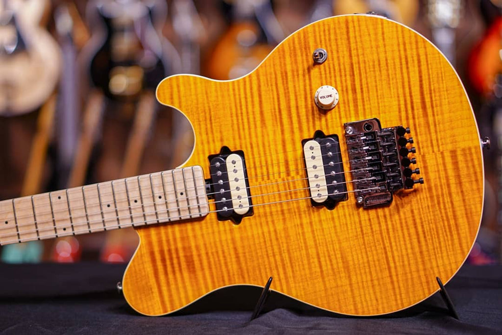 musicman axis trans gold flame maple G84795