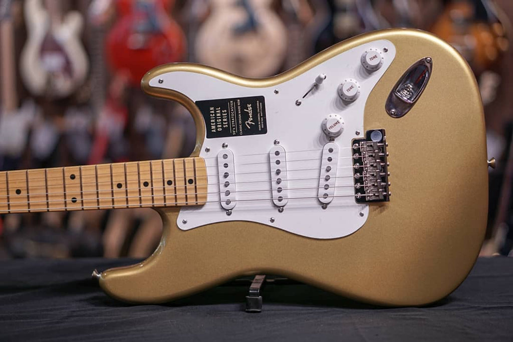 Fender American Original '50s Stratocaster - Aztec Gold with Maple Fingerboard