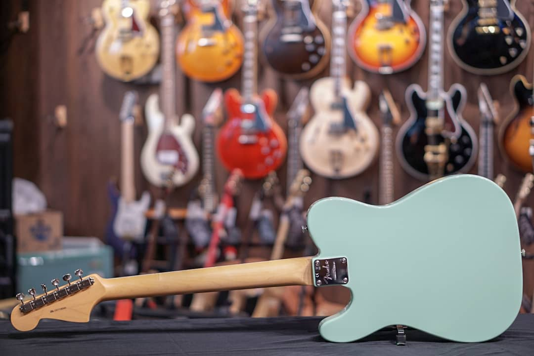 Fender Limited Edition Parallel Universe Jazz Tele - Surf Green with Rosewood Fingerboard