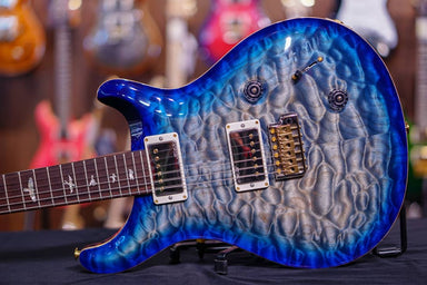 PRS Custom 22 Hiend spec# 2 Rosewood neck Faded blue burst - HIENDGUITAR.COM