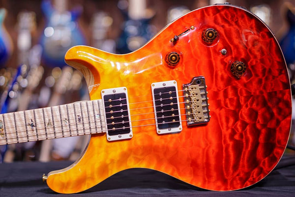 PRS Hiend spec custom24 piezo orange fade 0266410