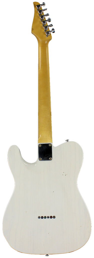 Suhr Classic T Antique Trans White Maple fingerboard SS