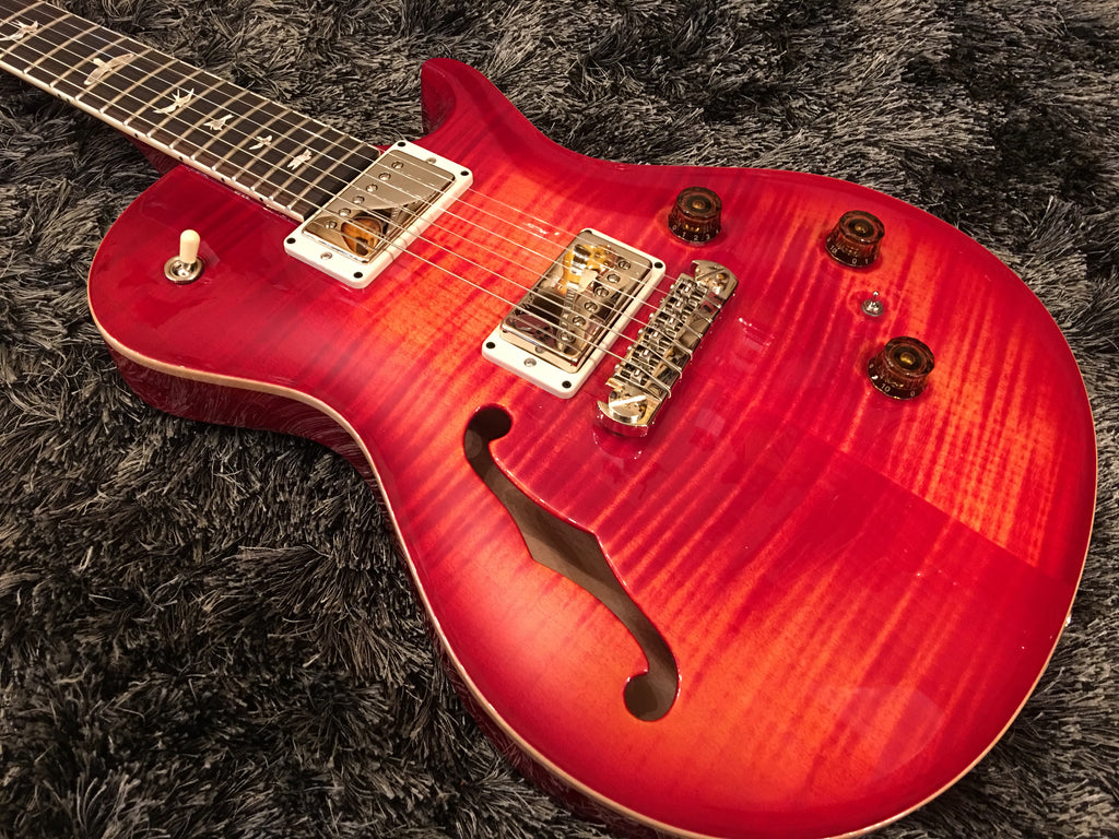 PRS P245 Semi-Hollow Blood orange