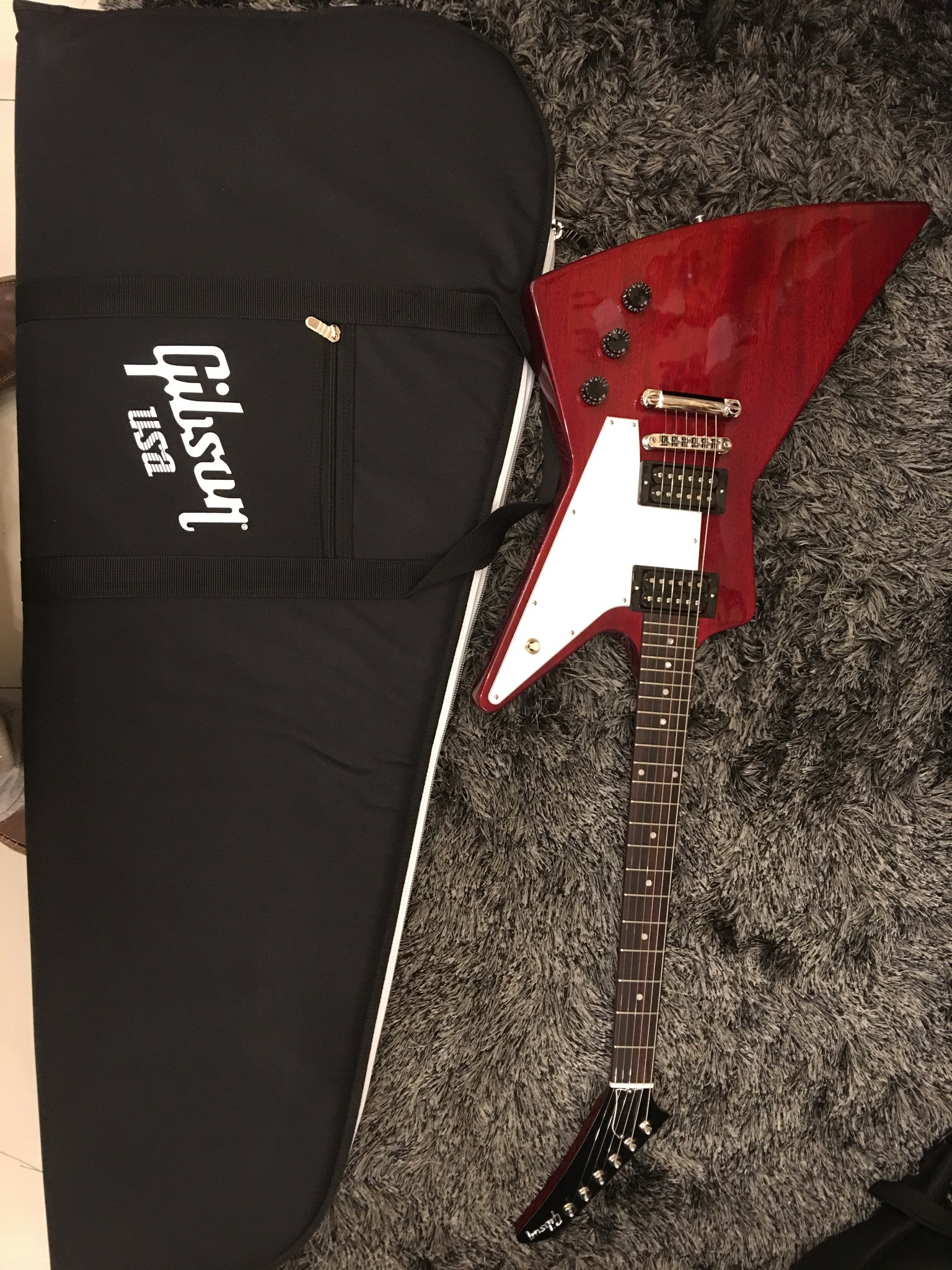 Gibson 2016 Explorer T Electric Guitar (with Gig Bag), Cherry Gibson - HIENDGUITAR.COM