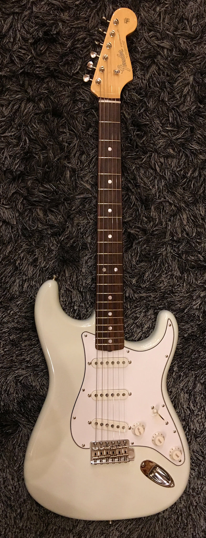 Fender American Vintage '65 Stratocaster - Olympic White with Rosewood Fingerboard