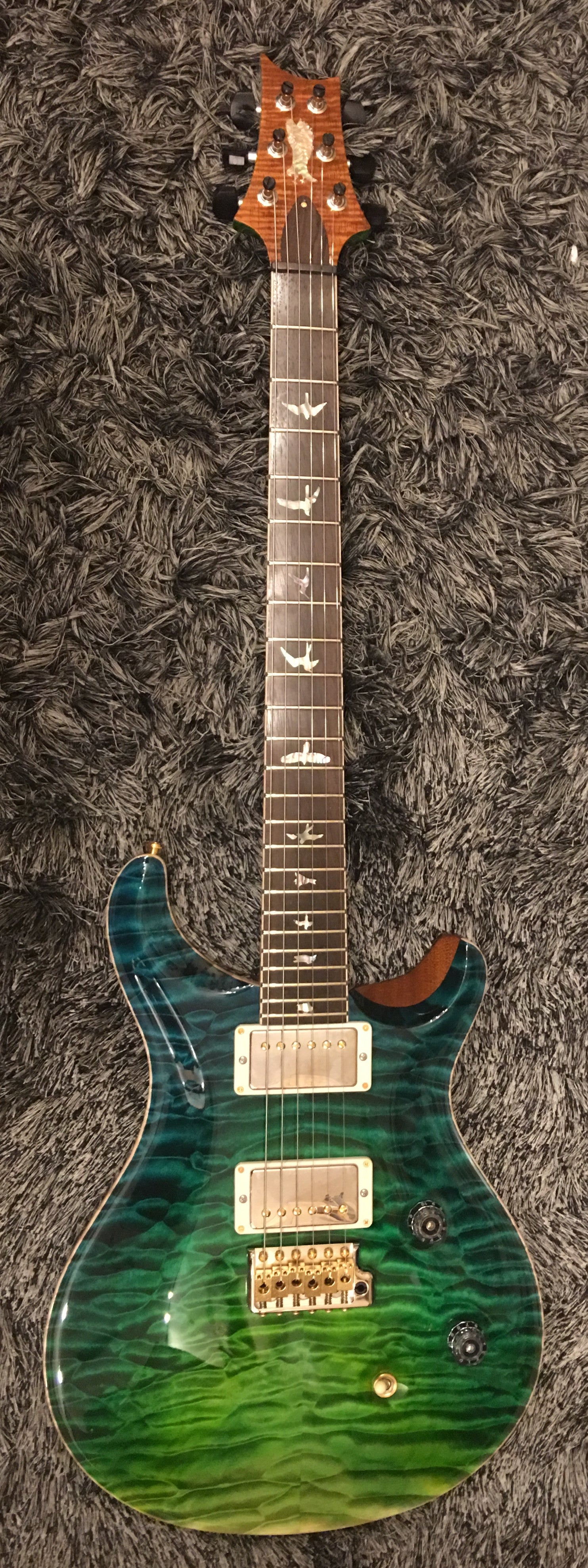 PRS Custom 24 Private stock Laguna dragon's breathe PRS - HIENDGUITAR.COM
