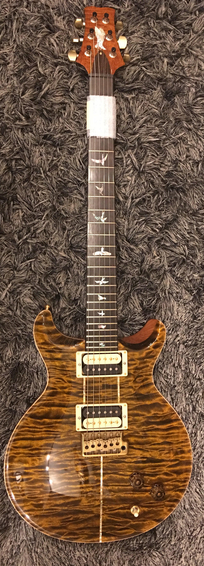 PRS Santana Private stock tiger eye quilt