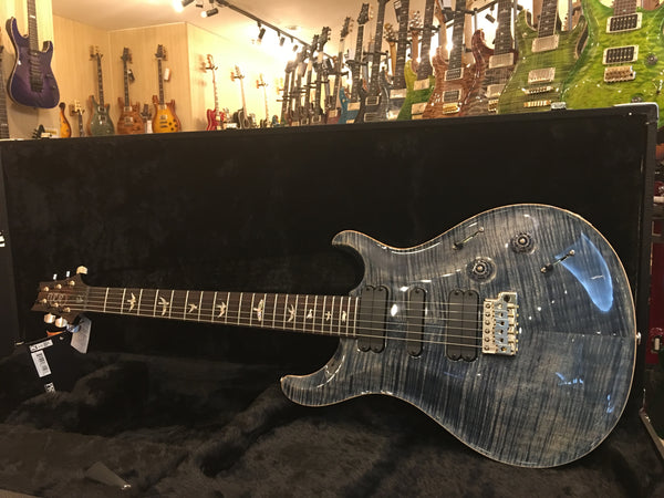 PRS 513 faded blue burst 10top