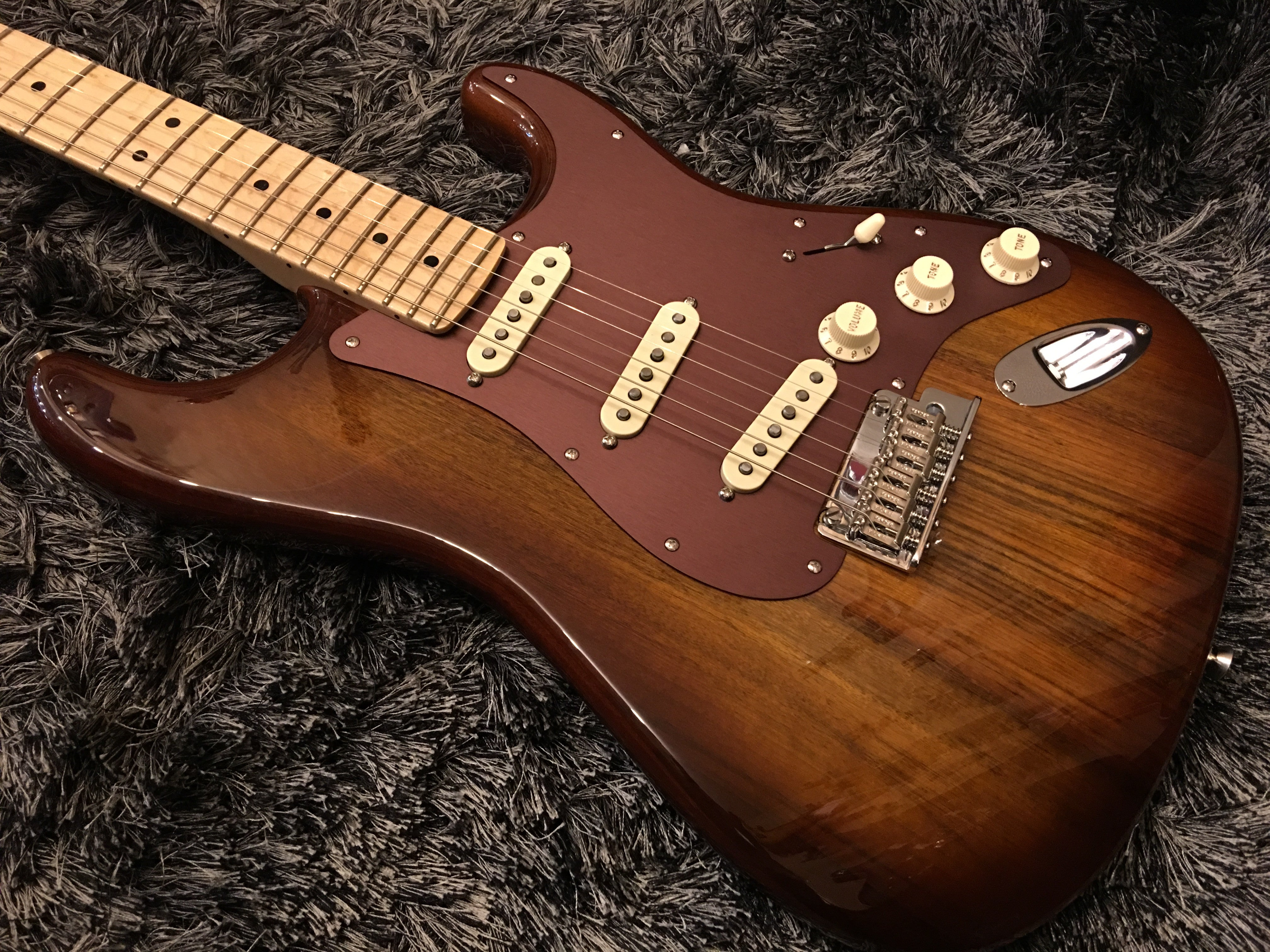 Fender Shedua top 2017 limited collection HIENDGUITAR.COM - HIENDGUITAR.COM