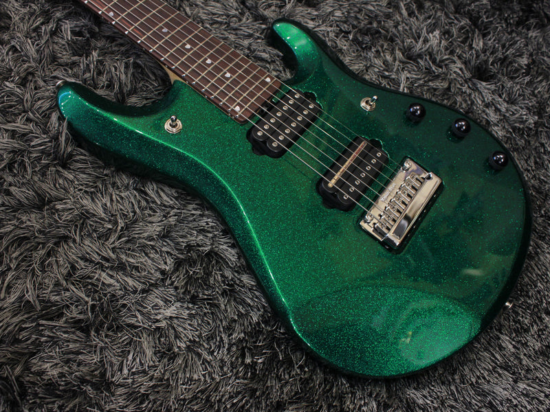 Music John Petrucci JPX-7 ES - PDN Emerald Green Sparkle Limited Edition