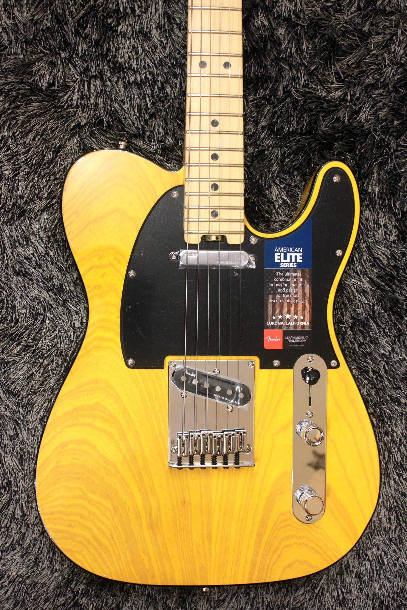 Fender American Elite Telecaster - Butterscotch Blonde with Maple Fingerboard HIENDGUITAR.COM - HIENDGUITAR.COM