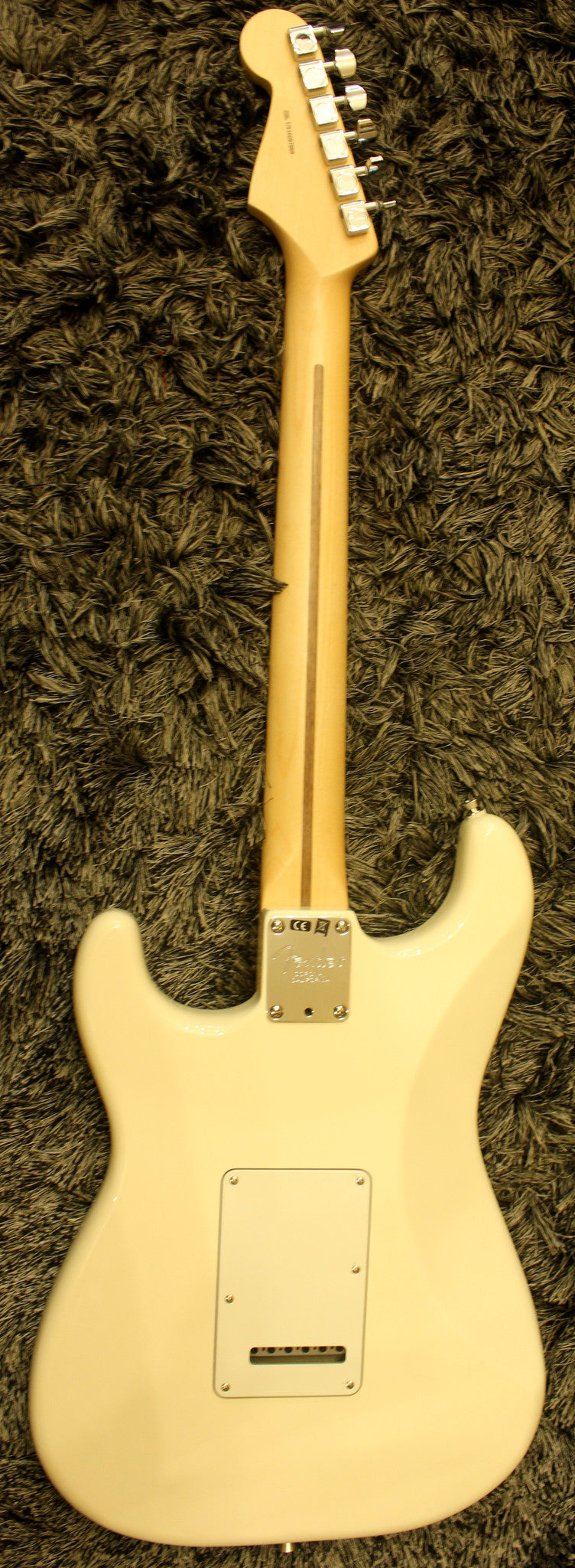 Fender American Professional Stratocaster - Olympic White with Maple Fingerboard HIENDGUITAR.COM - HIENDGUITAR.COM
