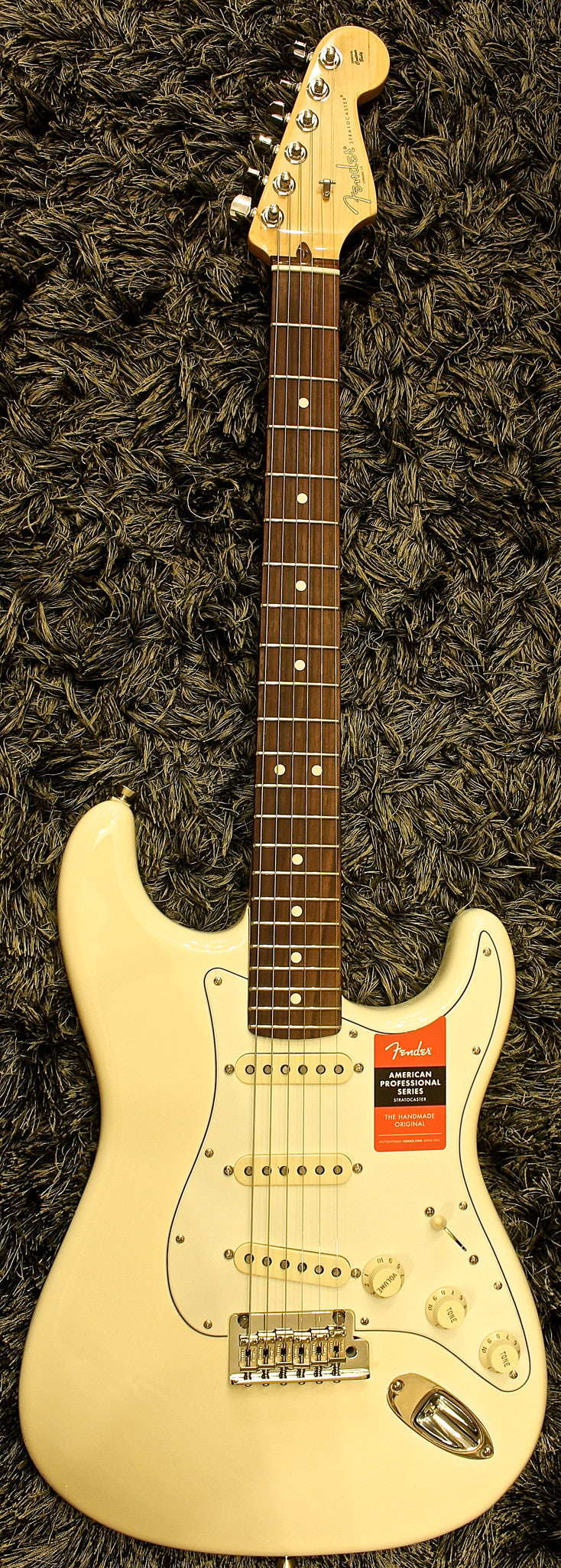 Fender American Professional Stratocaster - Olympic White   Rosewood 8775