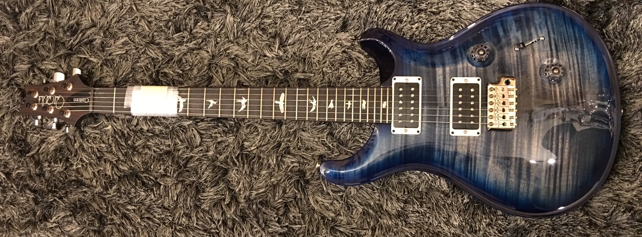 CUSTOM 24  REG  (FADED WHALE BLUE, BLUE WRAP BURST)