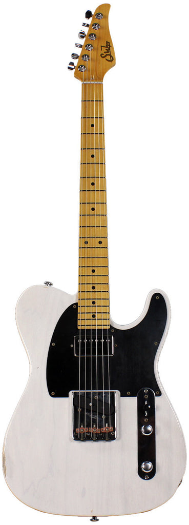 Suhr Classic T Antique Trans White Maple fingerboard SH
