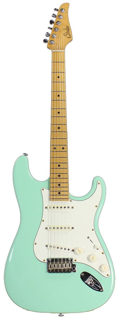 Suhr Classic Antique Guitar, Surf Green, Maple, SSS SUHR - HIENDGUITAR.COM