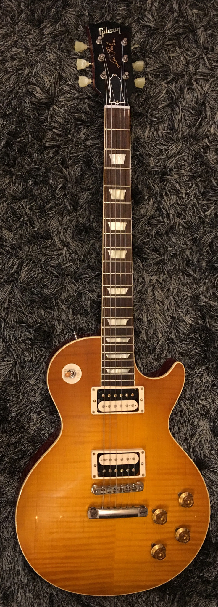 "GIBSON ""The Beauty of the Burst"" no 1 1958 LES PAUL REISSUE VOS ""HAND PICKED"" HIENDGUITAR.COM - HIENDGUITAR.COM"