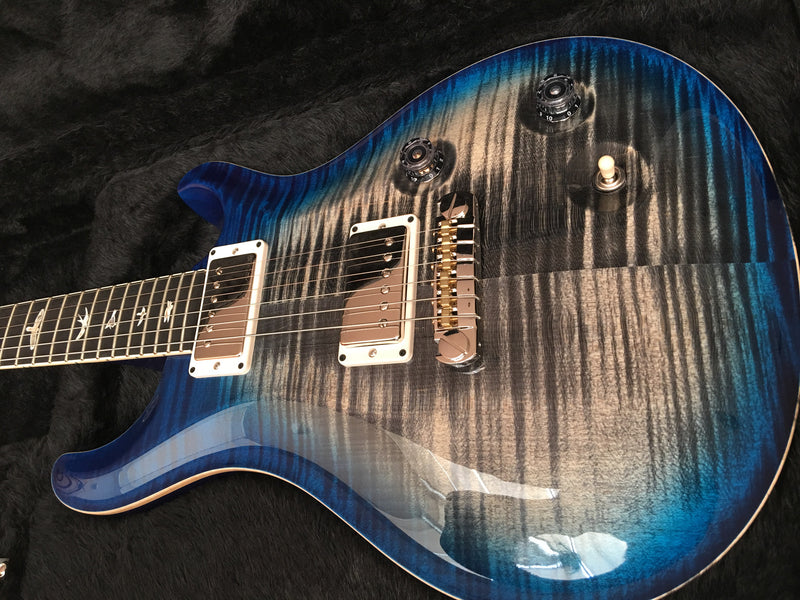 PRS Mccarty Charcoal Blue burst