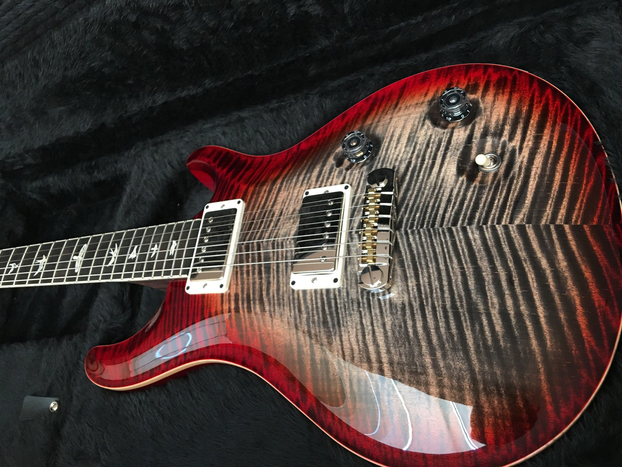 PRS Mccarty charcoal cherry rosewood neck - HIENDGUITAR   PRS GUITAR