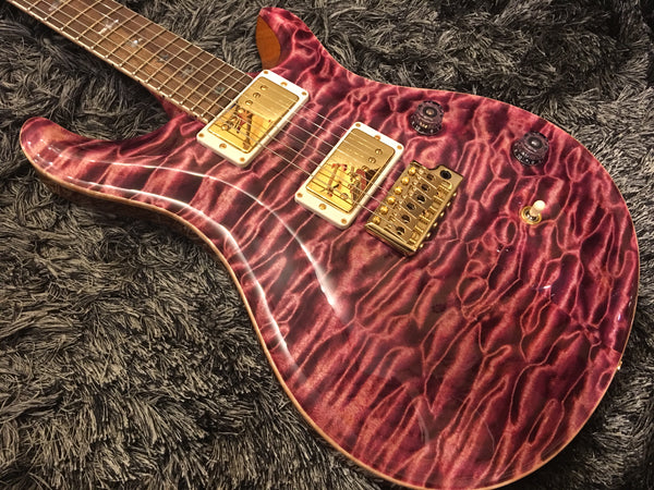PRS Custom24 retro Pomegranate quilt