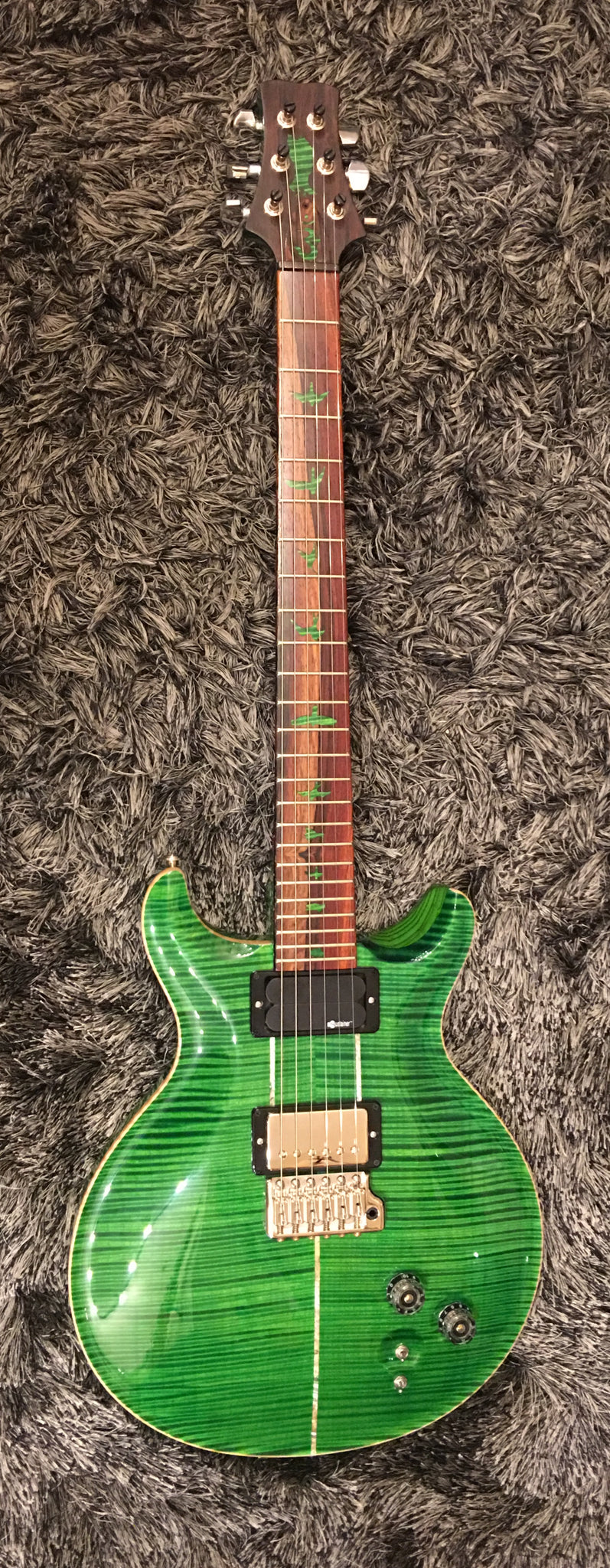 PRS Private stock Santana Laferrari green