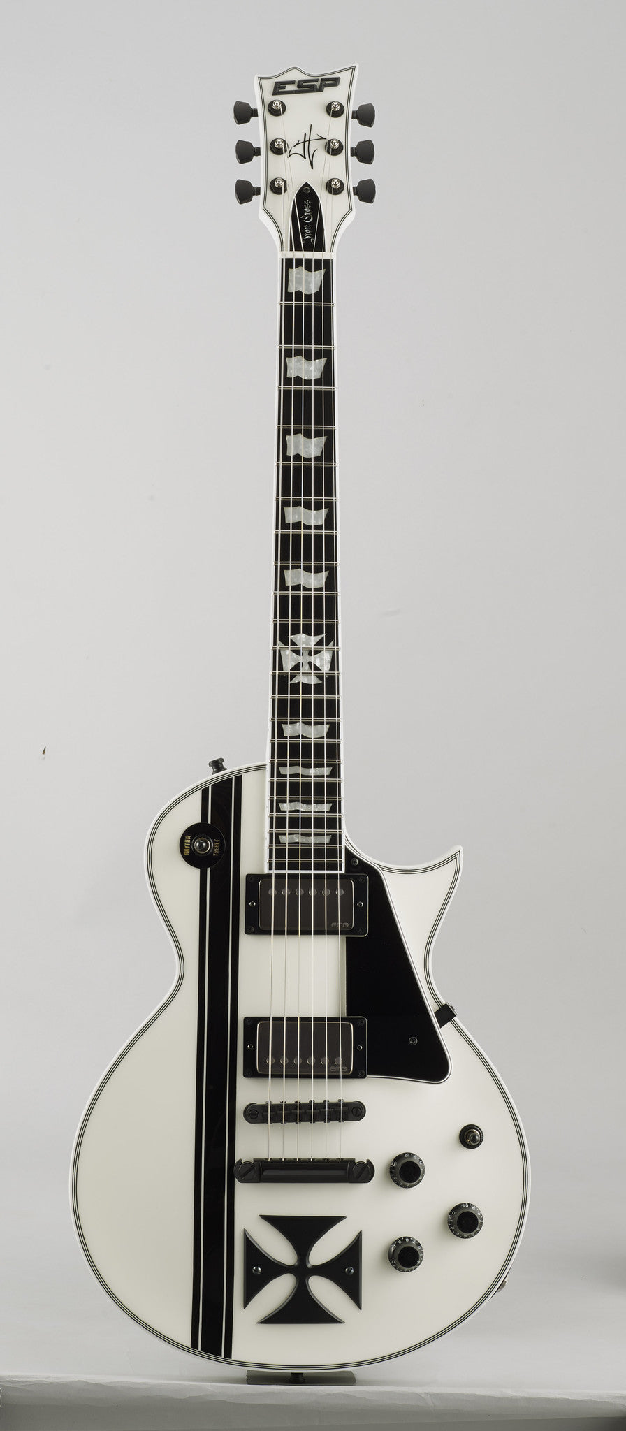 ESP IRON CROSS JAMES HETFIELD HIENDGUITAR.COM - HIENDGUITAR.COM