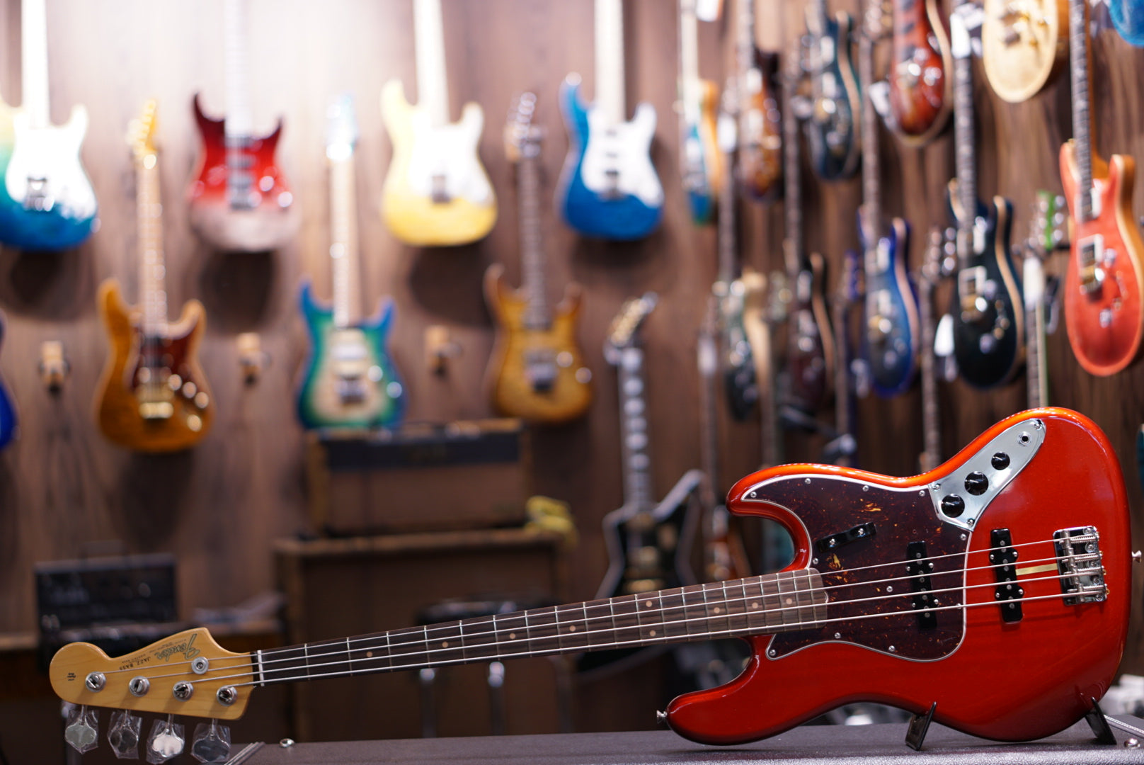 Fender American Original '60s Jazz Bass - Candy Apple Red