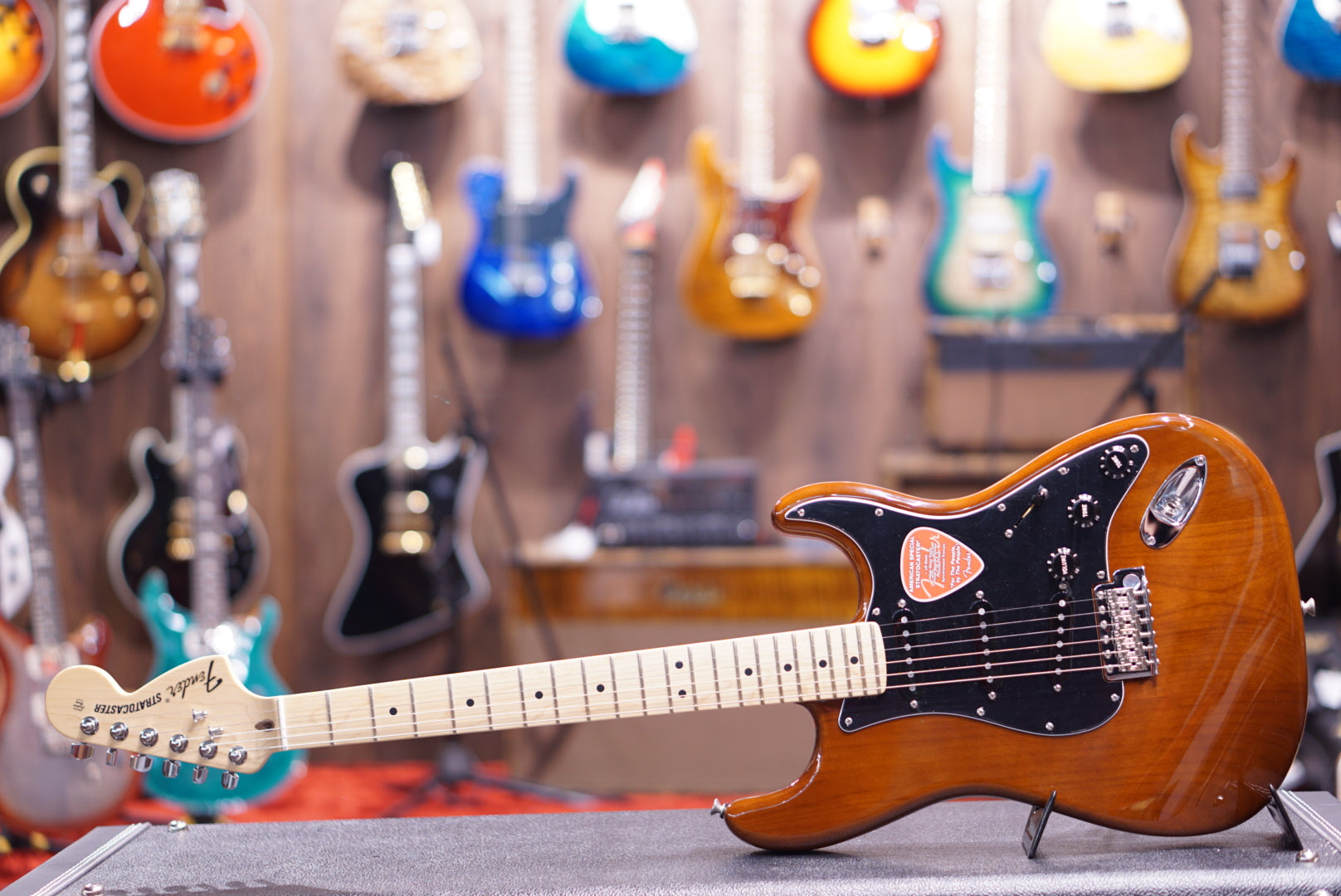 Fender American Special Stratocaster - Walnut with Maple Fingerboard
