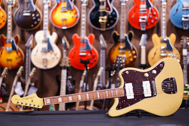 Fender 60th anniversary jazzmaster in natural - HIENDGUITAR.COM