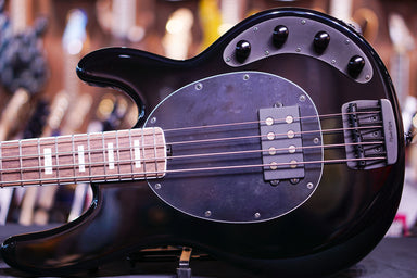 Ernie Ball Music Man BFR StingRay Special 4H - Hades Black F85445 - HIENDGUITAR.COM