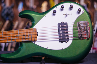 Ernie Ball Music Man StingRay Special 5 H - Charging Green F81832 - HIENDGUITAR.COM