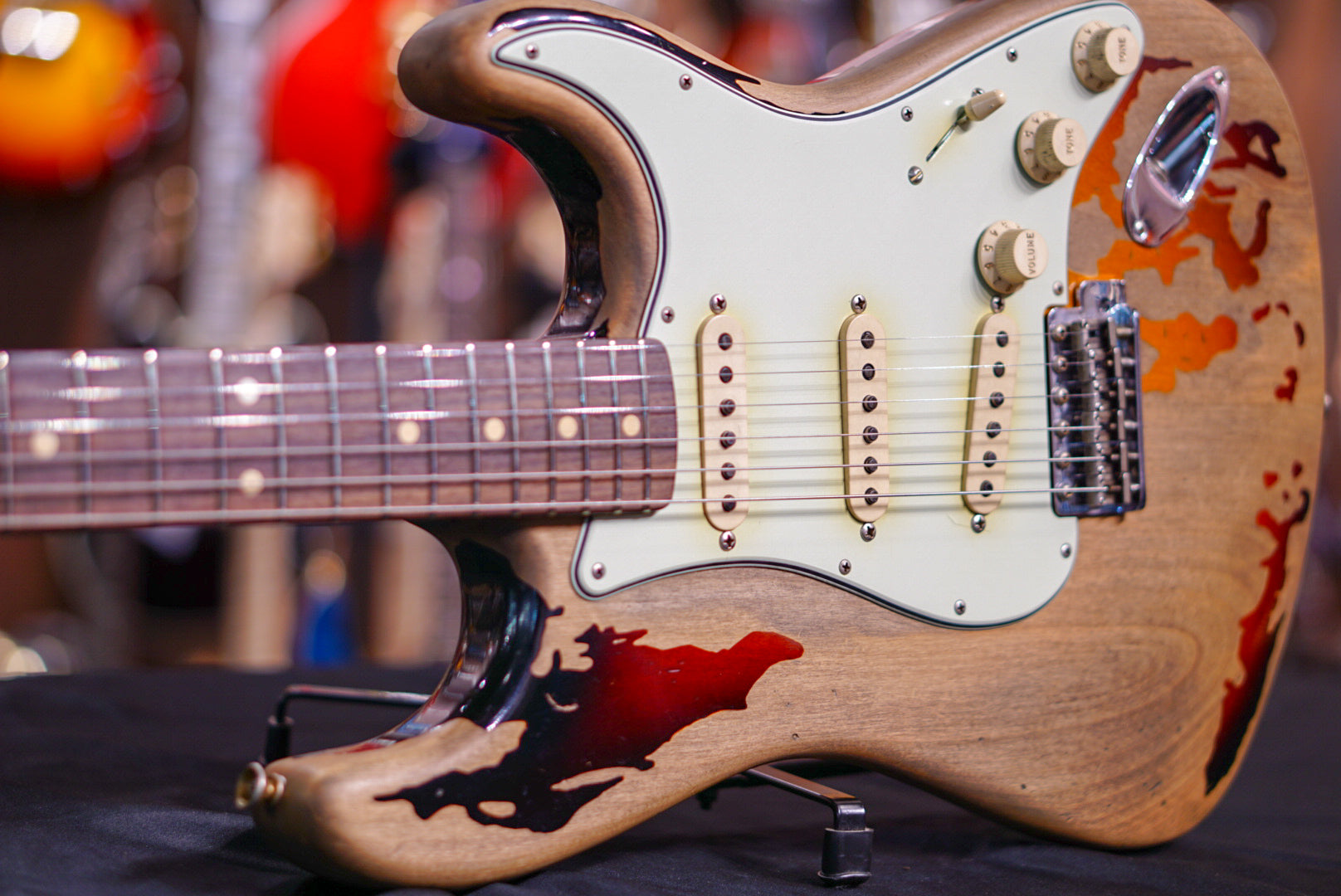 Fender custom shop rory Gallagher