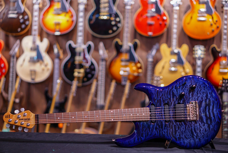 Music Man Luke Iii Bfr, Hss - Blueberry Quilt