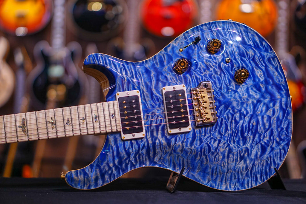 PRS Custom24 piezo Hiend spec faded blue jeans