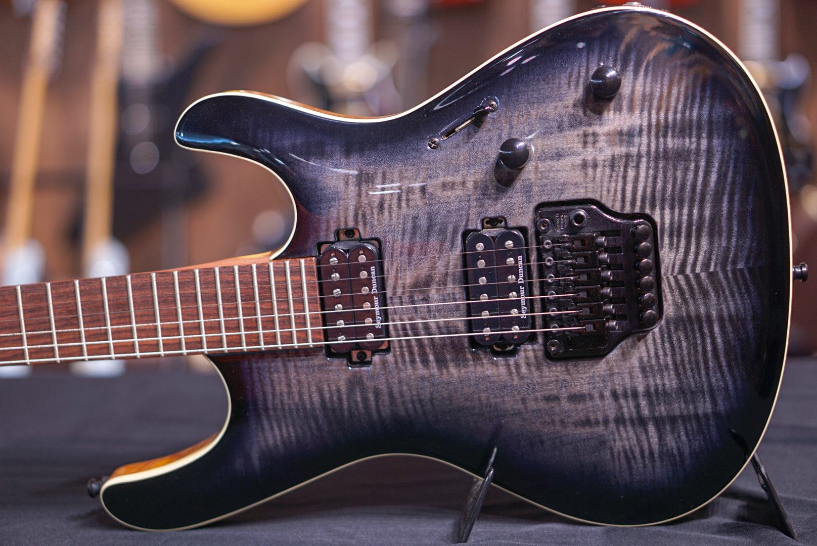 Mayones Setius 6 PRO Transparent Black Burst Mayones - HIENDGUITAR.COM